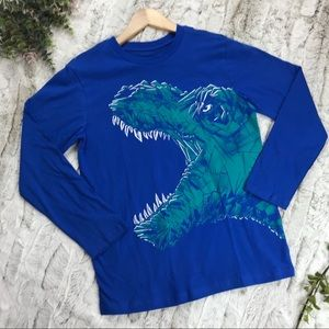 [Children's Place] Dinosaur Long Sleeve Tee Size L